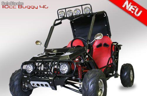 Buggy 125cc excelente calidad, 3 frenos disco, 6 faros alta
