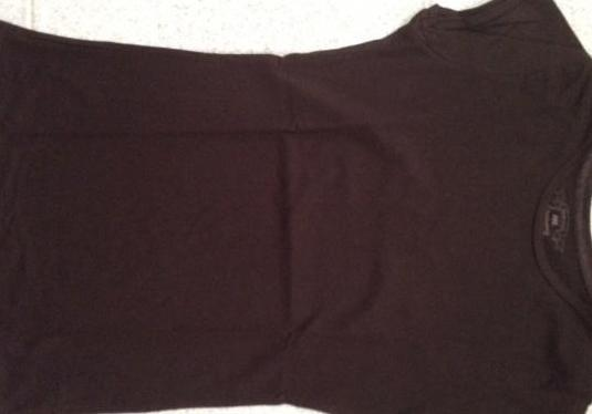 Camiseta marrón oscuro chica