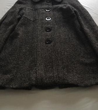 Abrigo lana bershka talla m