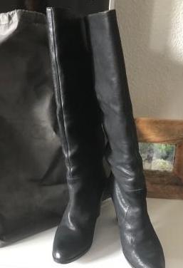Botas de piel altas mujer num. 38 uterque
