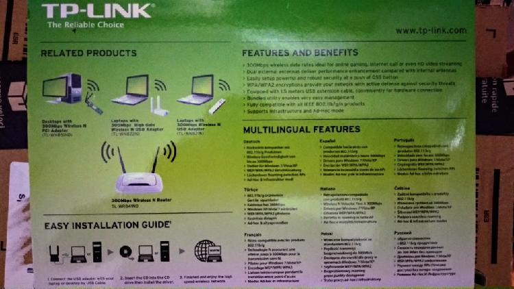 Adaptador wifi usb tp-link