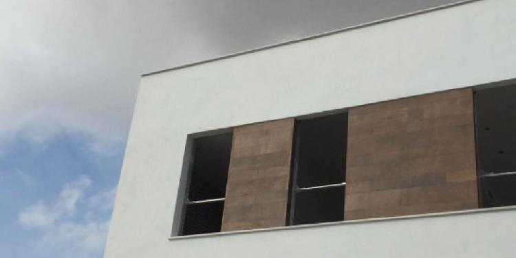 Aplicación mortero, monocapa de fachadas