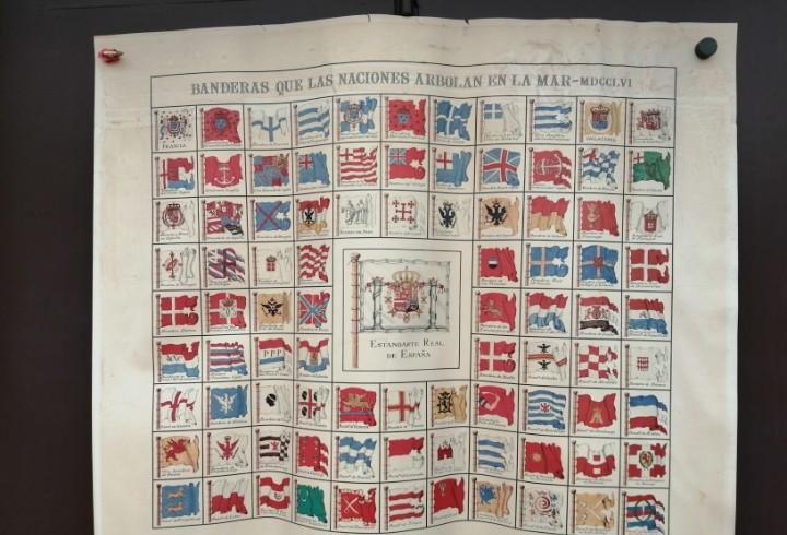 Banderas que las naciones arbolan en la mar- mdccvi - museo