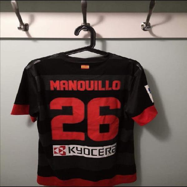 Camiseta atletico de madrid usada juego manquillo