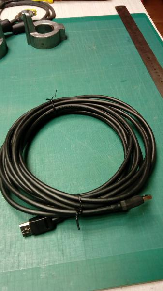 Cable displayport a displayport 5,80m, negro