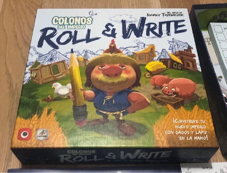 Colonos del imperio roll & write