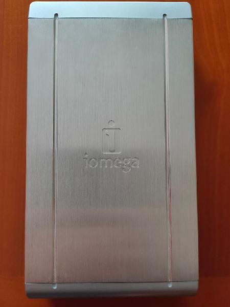 Disco duro externo iomega de 320gb 7200rpm