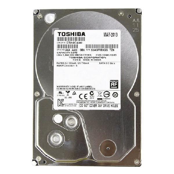 "Disco duro hdd 3tb 3.5"" toshiba"