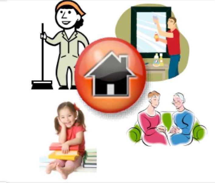 Empleada de hogar o cuidado personas dependientes