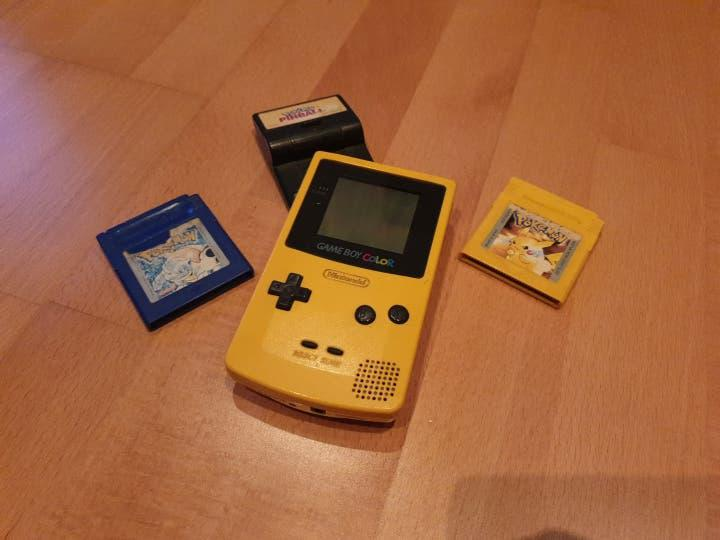 Gameboy color con juegos