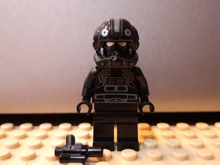 Lego star wars minifigura imperial v-wing pilot