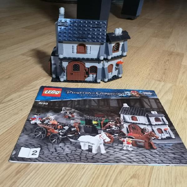 Lego piratas del caribe 4193 incompleto.