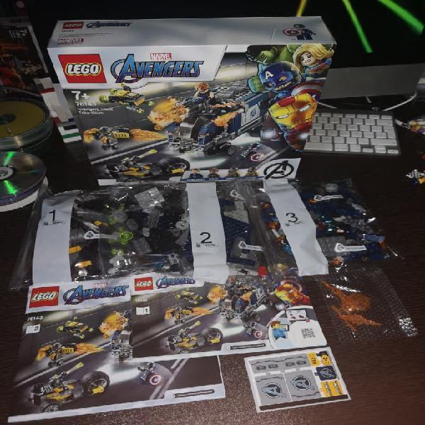 Lego super heroes 76143 - sin figuras