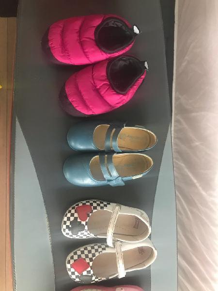 Lote calzado niña