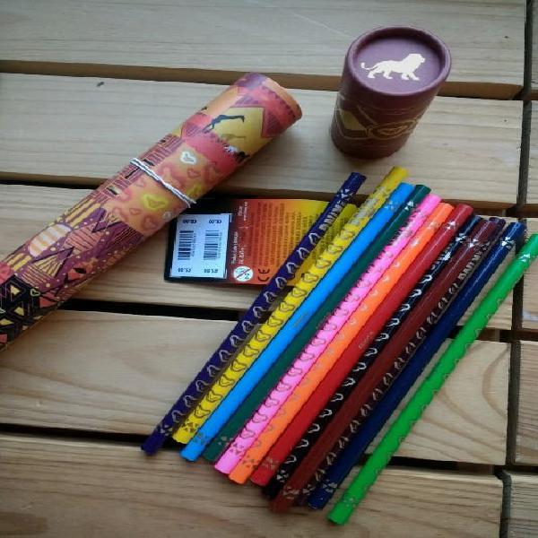 Lápices de colores el rey león