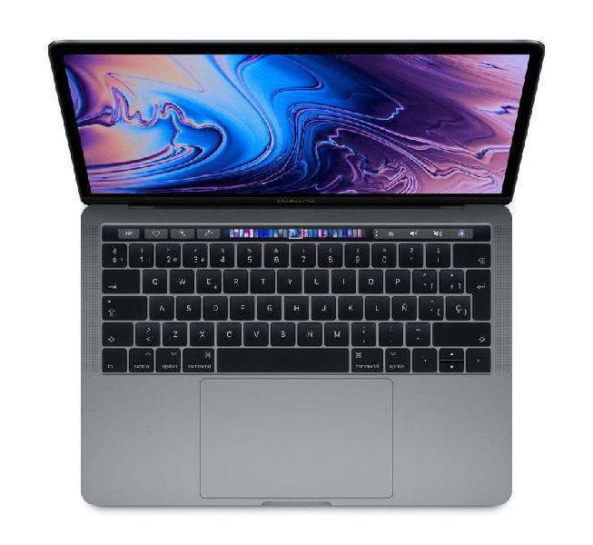 """Macbook pro 13"""" 2019. 4 puertos tb. gris espacial"""