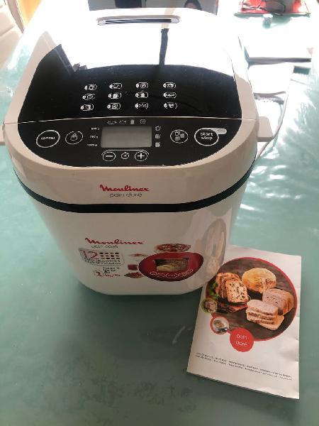 Máquina para hacer pan marca moulinex