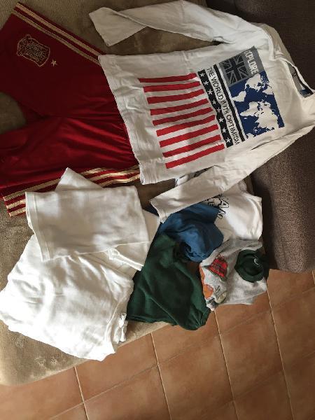 Pijamas, camiseta y camisetas. talla 8-10
