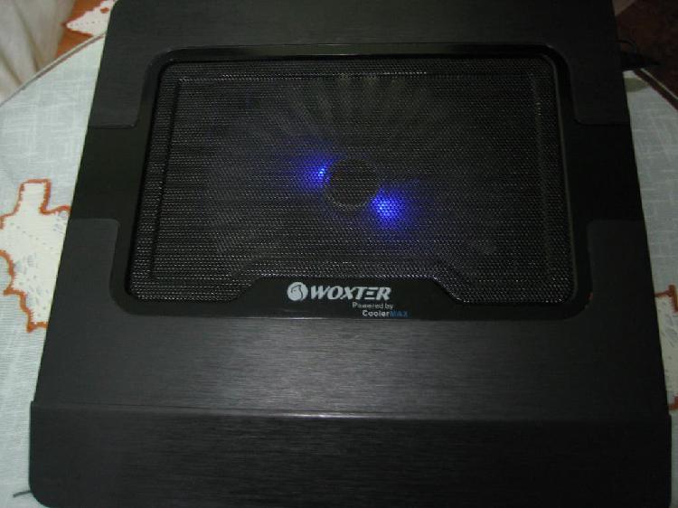 Refrigeración woxter para tu portátil