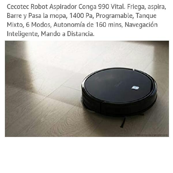 Robot aspirador cecotec conga 990 exelence nueva