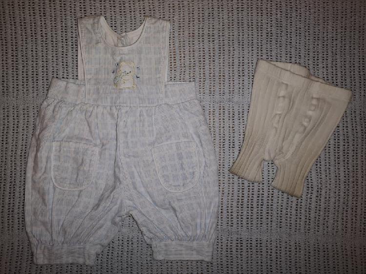 Peto bebé 3 meses + regalo leotardos