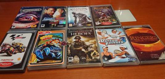 8 juegos psp 1 pelicula