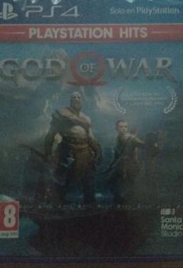 God of war, juego play 4