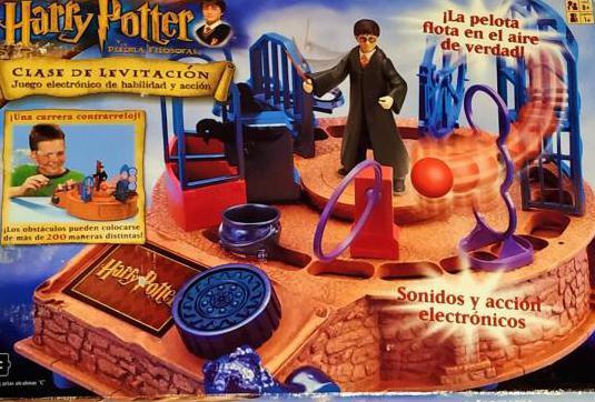 Juego harry potter clase de levitación