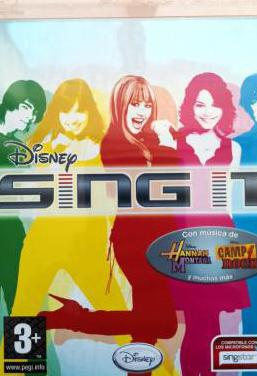 New] disney sing it! singstar ps3 pal esp