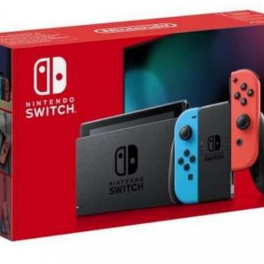 Nintendo switch azul neón rojo neón - v2