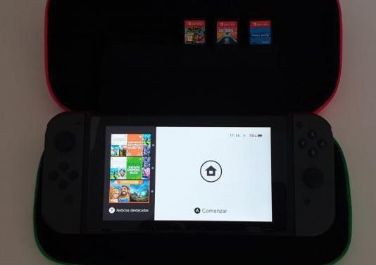 Nintendo switch 2018 gris en garantía