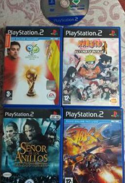 Ps2 juegos varios 5 leer