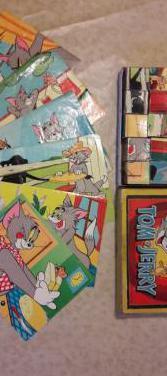 Puzzle rompecabezas tom y jerry