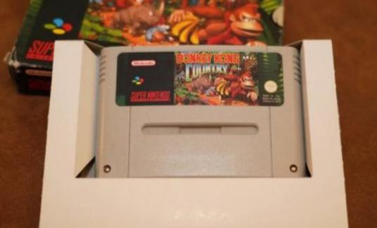Snes donkey kong country 2 -completo-
