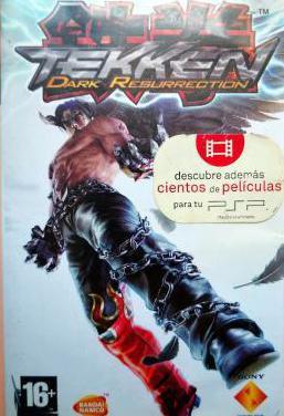 Tekken dark resurrection psp pal esp 1ª ed