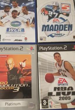 Videojuegos deportes ps2