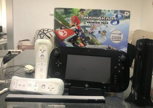 Wii u 32gb 2 mandos wii