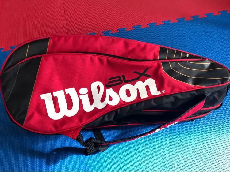 Bolso para raquetas tenis wilson