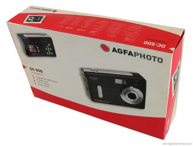 Camara fotos digital agfa dc-500 5mp zoom digi.8x