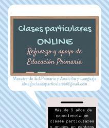 Clases particulares online de ed.primaria