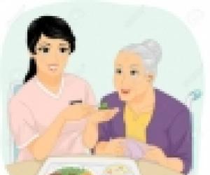 Cuidadores e internas en domicilio y hospital.