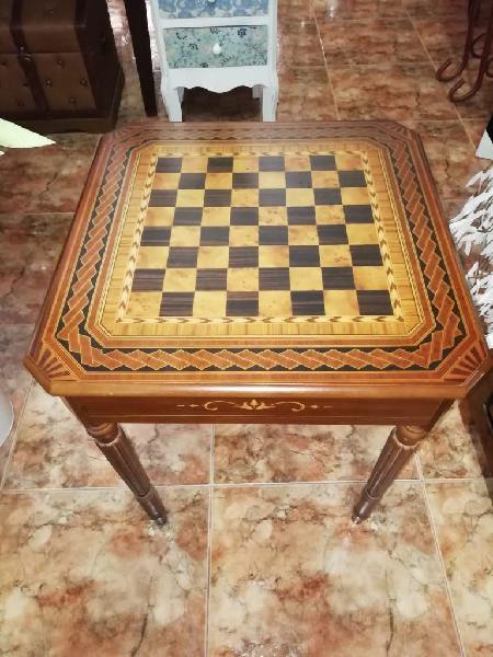 Mesa ajedrez