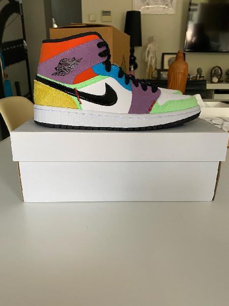Nike air jordan 1 mid multi (varias tallas)