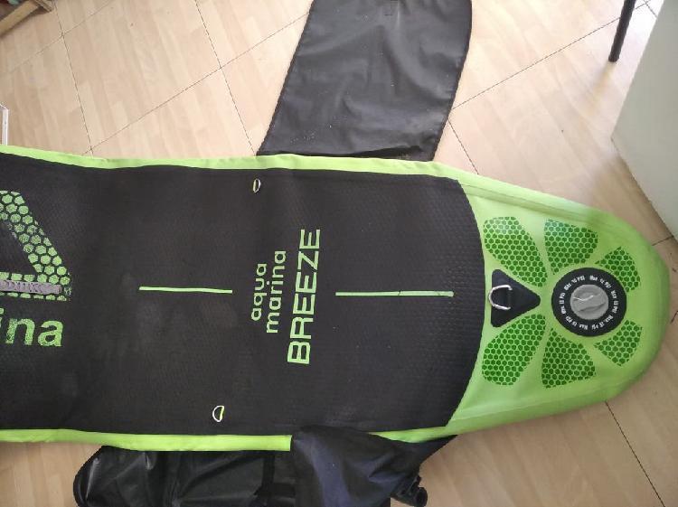 Paddle surf hinchable + tabla bodyboard + aletas