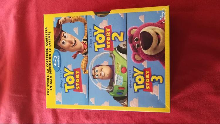Toy story triologia blu ray