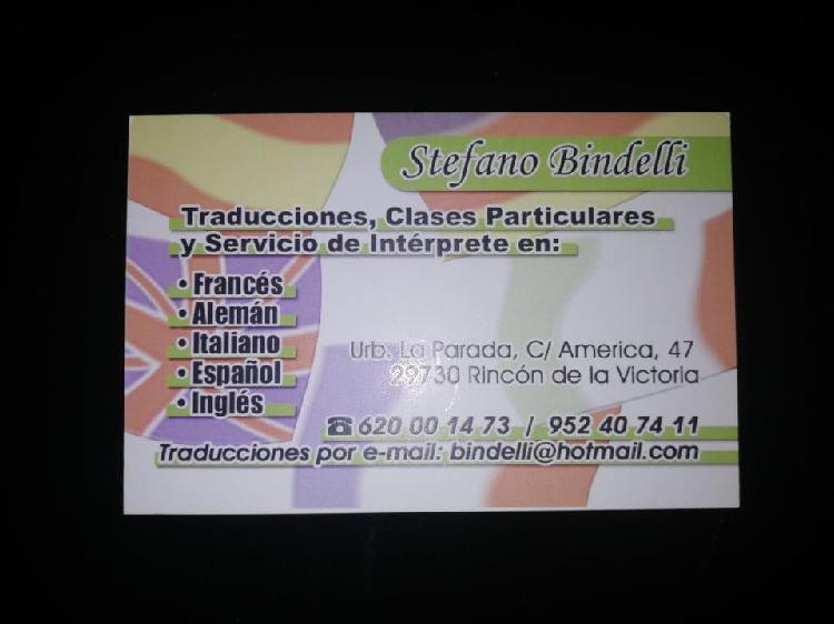 Traducción cartas gastronómicas