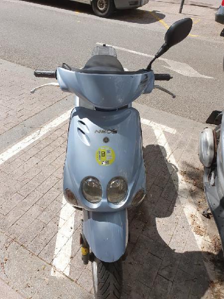 Moto yamaha neos 49,cc del 2005