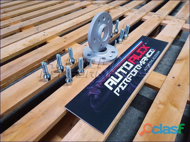 Separadores 12mm audi +seat + skoda + vw