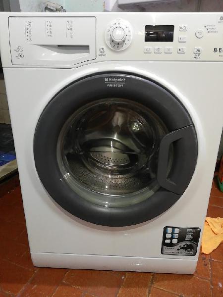 vendo lavadora secadora 8kg ariston
