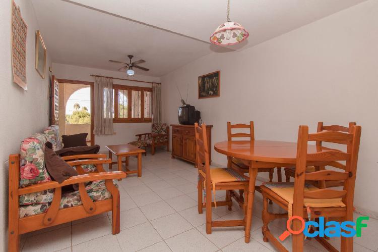 GANGA-Bungalow dúplex en zona Calas Blancas de 2 dormitorios con solárium y piscina comunitaria 1